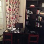 Presidential Suite Sitting Desk & Library