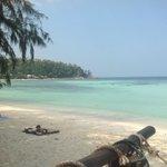 A beautiful beach