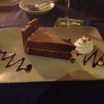 Tarta de chocolate de kitkat con baileys