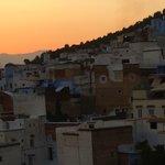 Medina à la tombée de la nuit