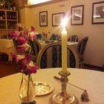 si cena a lume di candela