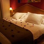 detalle romantico habitacion