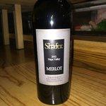 A bottle of Shafer Merlot Very nice!!