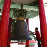 you can ring the bell if you are a believer