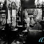 On the city tour and taken to La Epoca a hair dresser and barber