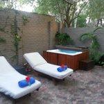 honeymoon suite private courtyard