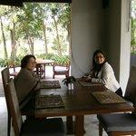 Resort dining area