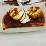 Best waffle! Try this caramel ice cream with it!