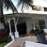 área externa hotel