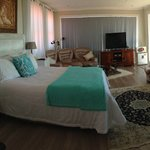 Luxury Suite with 360deg view of the sea & private deck