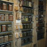Tea and spice shop