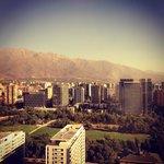 Vista para os melhores bairros de Santiago