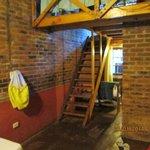 l escalier de la chambre