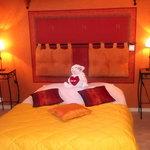 Chambre double - Hôtel des Côtes de Meuse