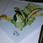 St Jacques, brocolis, beurre épices