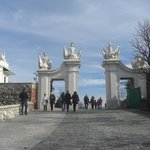 Restored eastern gate