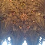 Inside St Giles cathedral.