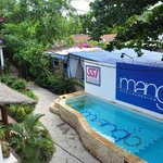 nice pool @ Mango Dive & Bungalow
