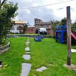 Our garden/driveway