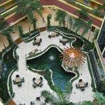 Lobby of Embassy Suites Dorado