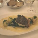 fillet of cod with hollandaise sauce