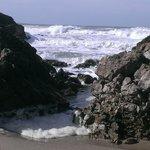 View of rocks