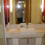 Wash basin and vanity