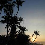 levée du soleil sur la plage