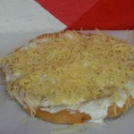 Pan Loco con queso y crema