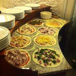 Saporetti Garden Pizza
