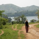 The walk to the crater lakes