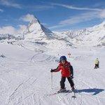 di fronte al Matterhorn