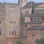 Vistas desde la Mezquita Mayor de Granada