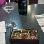Wine and chocolate tasting...delicious!