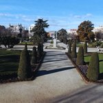 The Retiro gardens