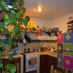 Zona de cocina y área común