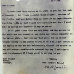 Gandhi's personal plea to Hitler