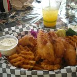 Fish and chips Kalapana style
