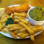The small fish and chips - perfect for the smaller appetite.