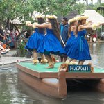 Have to see the canoe parade