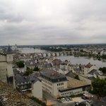 Vue sur la ville de Saumur