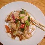 Chicken Stir fry and sticky rice