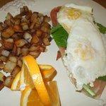 Breakfast: HRM Breakfast Sandwich