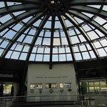 Shopping center's ceiling
