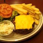 Cheeseburger Royal Platter