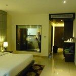 Kamer en badkamer