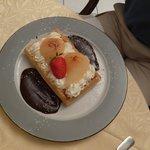 Dessert : Gauffes poires chocolat