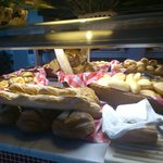 Lovely choice of fresh bread each meal.