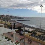 Vue du balcon des suites sur mer