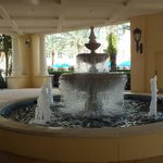 Fountain at the lobby